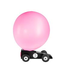 Donkey Balloon racer Blackstar
