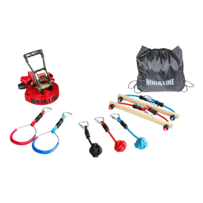 Slackers Ninja avonturenparcours intro kit