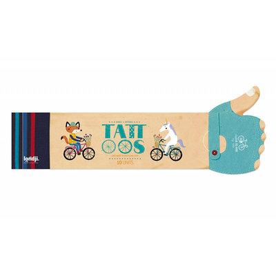 Londji Tatouages bicyclettes