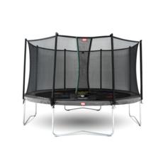 BERG trampolines Trampoline Favorit Levels Grey 430 + safety net Comfort