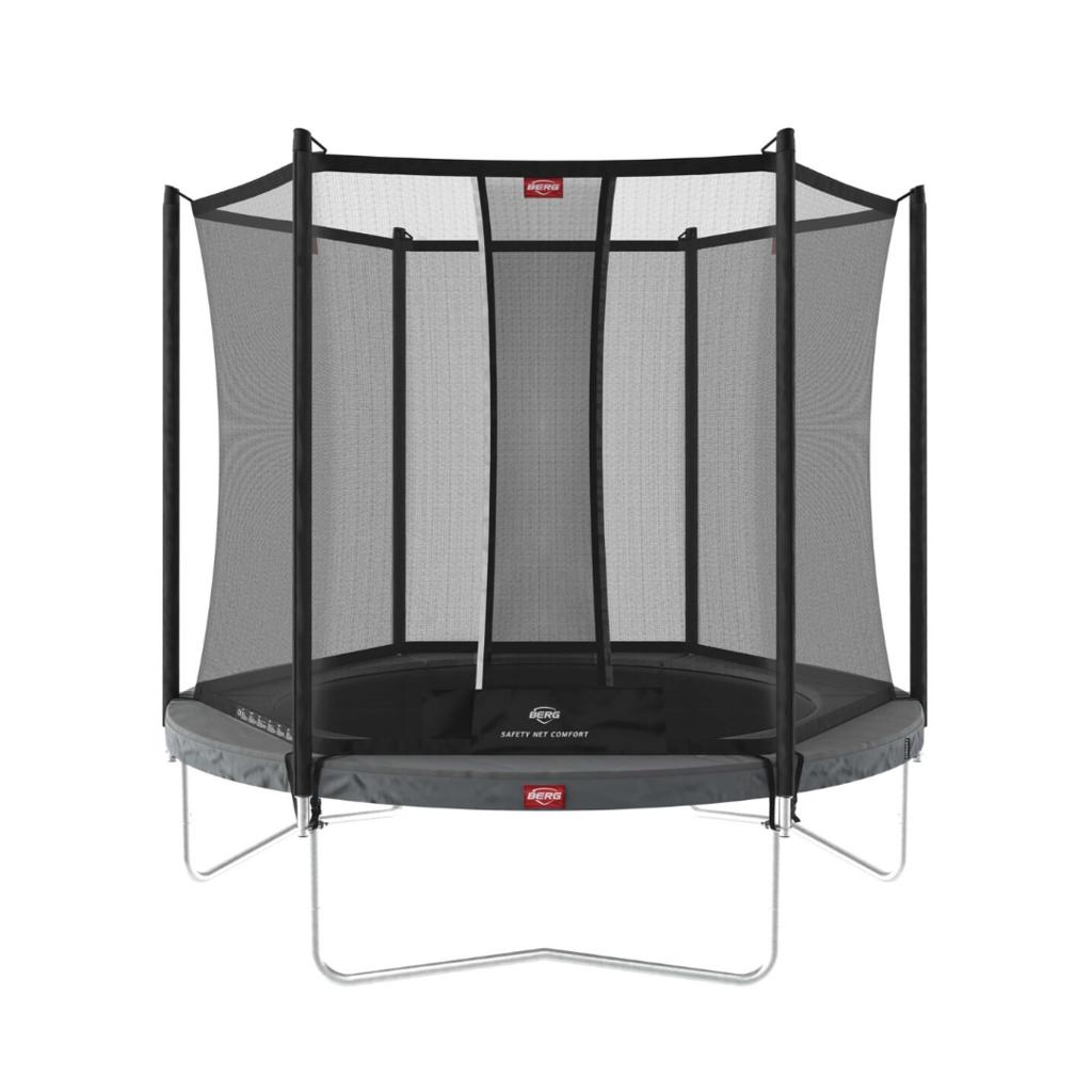 BERG trampolines Trampoline Favorit Regular 270 grey + safetynet Comfort