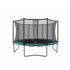 BERG trampolines Trampoline Champion Green 380 + safety net Comfort