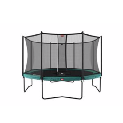 BERG trampolines Trampoline Champion 380 groen + veiligheidsnet Comfort
