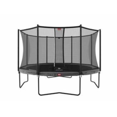 BERG trampolines Trampoline Champion Gris 380 + filet de sécurité Comfort