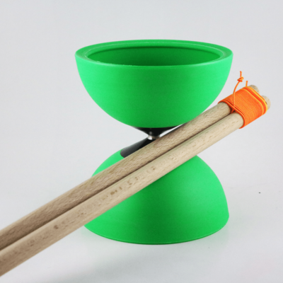 Circus Jojo Diabolo with wooden sticks