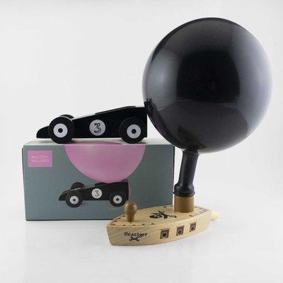 Donkey Ballonboot en -auto black