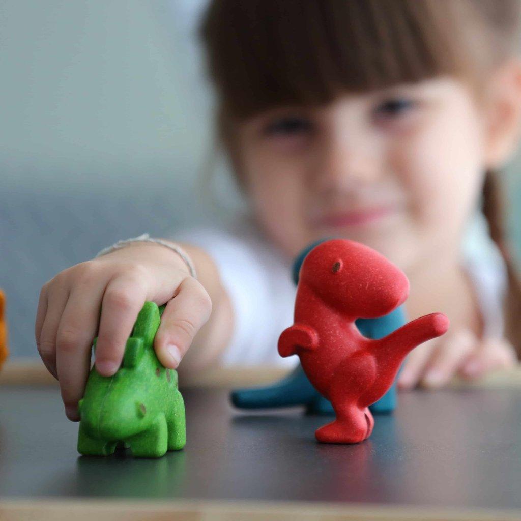 Plan Toys Dinoset (4 stuks)