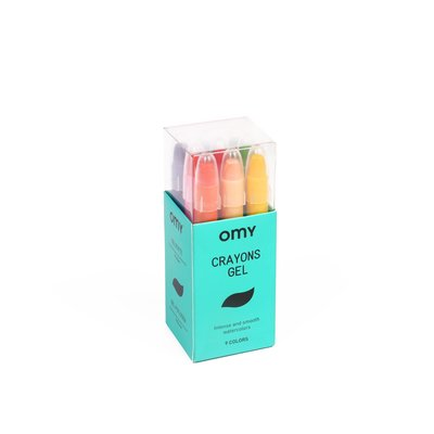 OMY Gel markers (9 pieces)