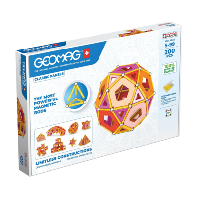 Geomag Classic Panels Green Line  200 pieces