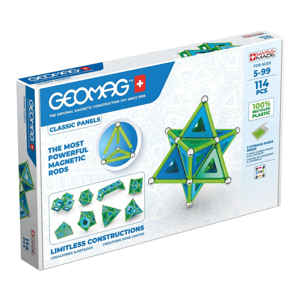 Geomag Classic Panels Green Line 114-delig