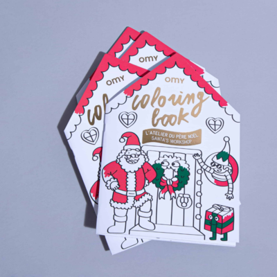 OMY Christmas coloring book