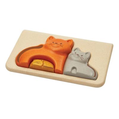 Plan Toys Mon premier puzzle chats