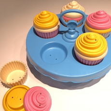 Green Toys Cupcakes set