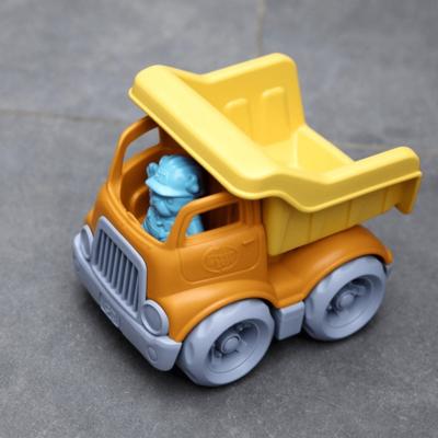 Green Toys Mini camion à benne basculante