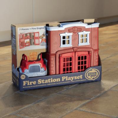 Green Toys Caserne de pompiers