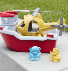 Green Toys Lifeboat & helicopter