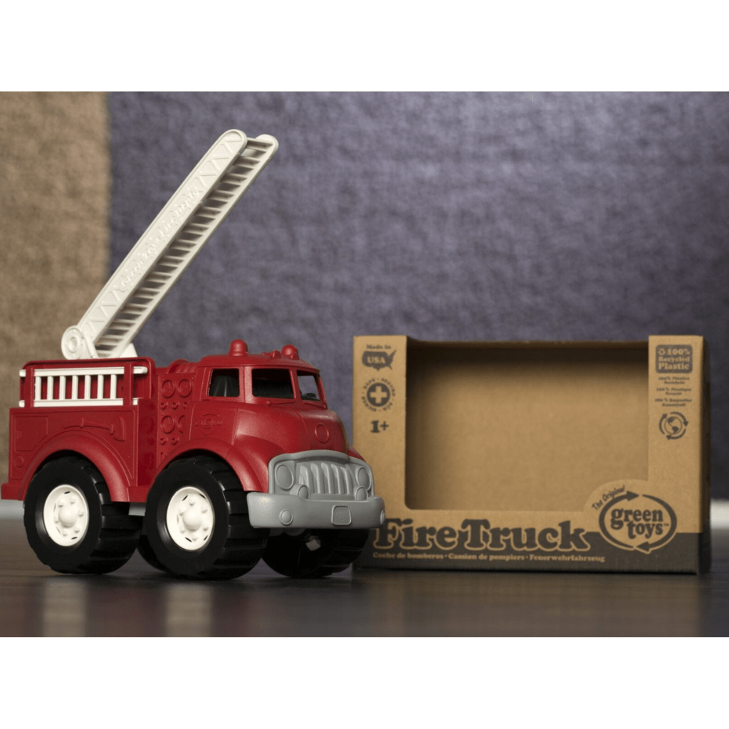 Green Toys Camion de pompiers