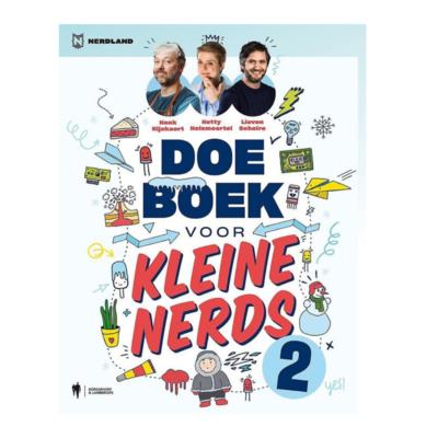 Tweede doeboek voor kleine nerds