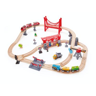 Hape Busy City Rail set