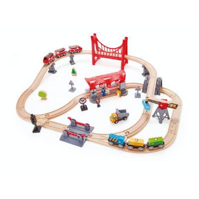 Hape Busy City Rail treinbaan