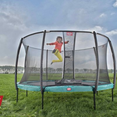 BERG trampolines Trampoline Champion 270 groen + safety net de luxe