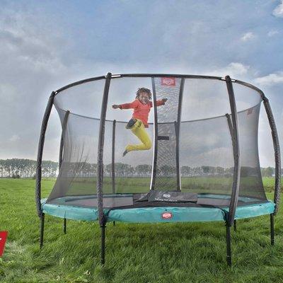 BERG trampolines Trampoline Champion 270 vert + filet de sécurité de luxe