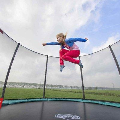 BERG trampolines Trampoline Champion 330 vert + filet de sécurtié de luxe