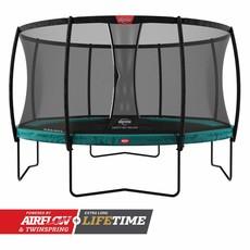 BERG trampolines Trampoline Champion 330 groen + veiligheidsnet de luxe