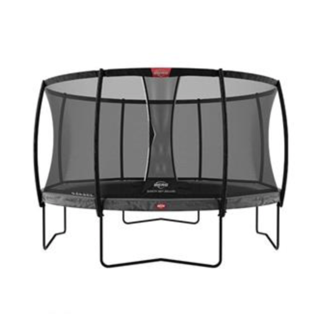 BERG trampolines Trampoline Champion 330 grey + safety net de luxe