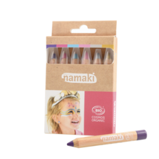Namaki Set 6 bio-schminkpotloden Fantasiewereld
