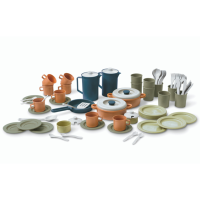 Dantoy Bio Coffee and Dinner Set (79 pcs)