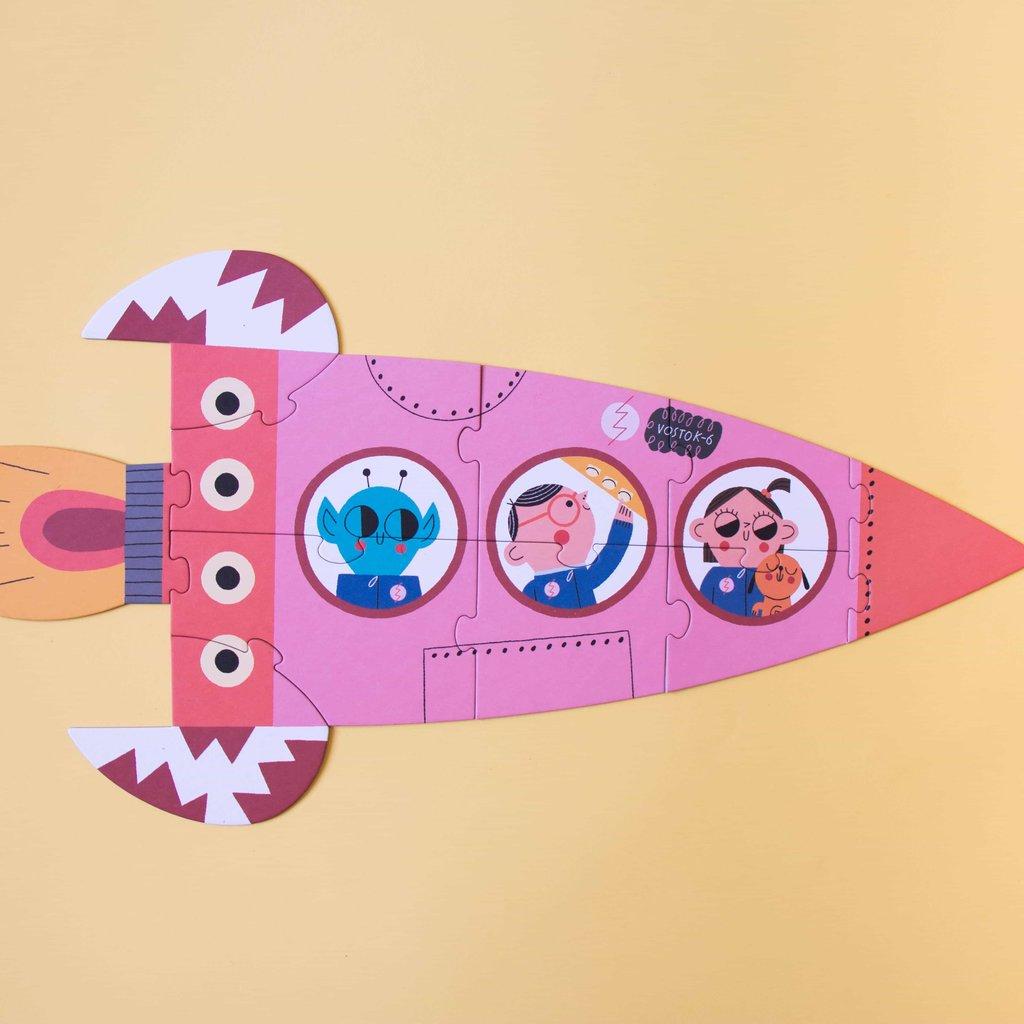 Londji Valentina in space puzzel