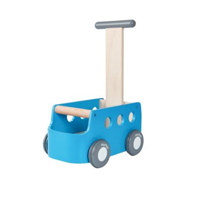 Plan Toys Loopauto blauw