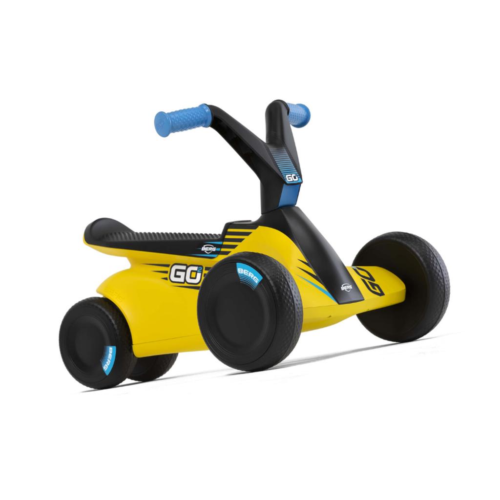 BERG gocarts GO² SparX Yellow  + draagriem