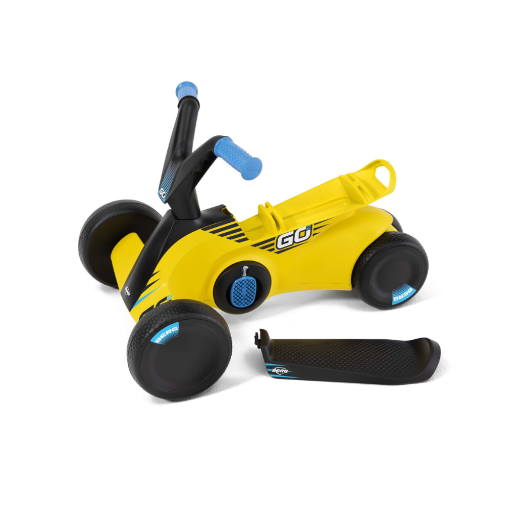 BERG gocarts GO² SparX Yellow  + strap