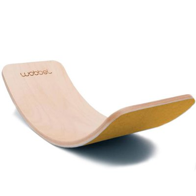 Wobbel Wobble original blank lacquered with felt musterd