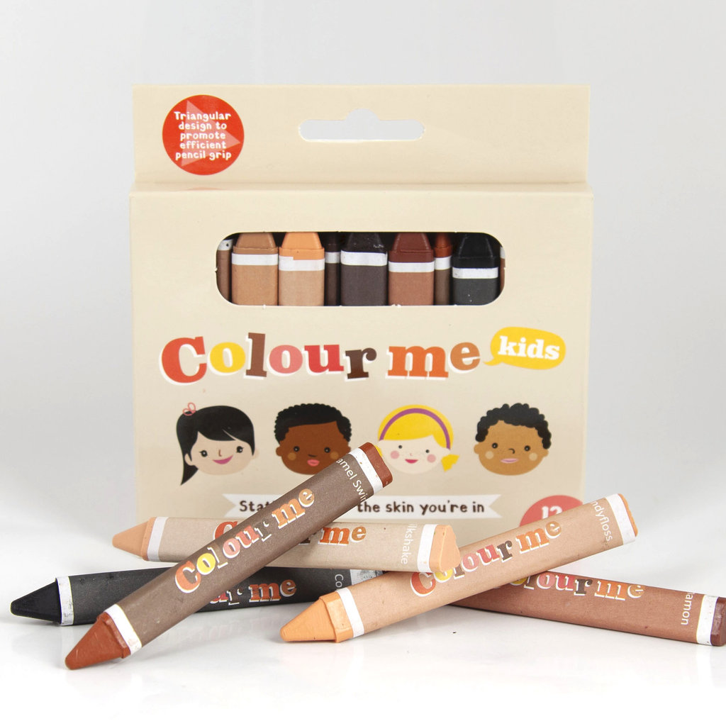 Colour Me Kids Colour Me crayons – huidskleur krijtjes