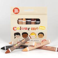 Colour Me Kids Colour Me crayons  - (3x12p)