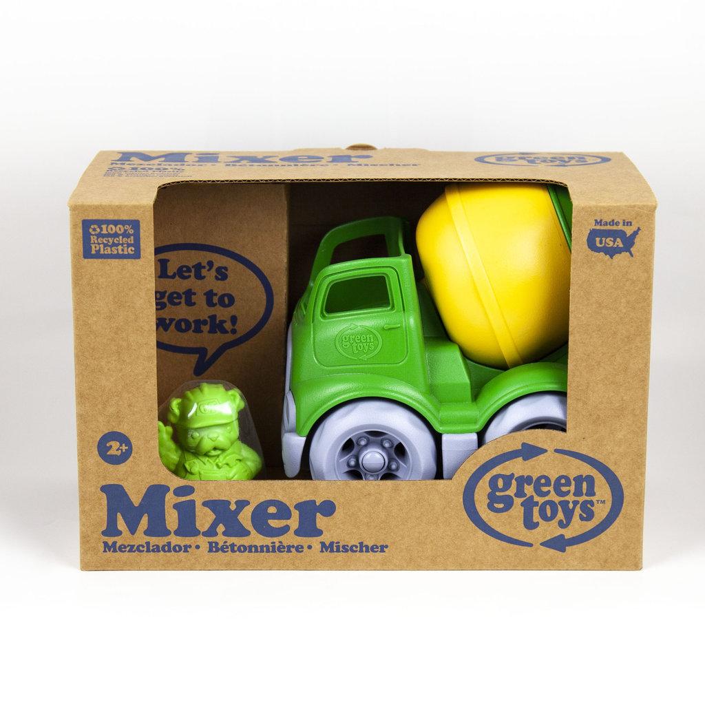 Green Toys Green Toys mini-betonmixer voor stevig werk