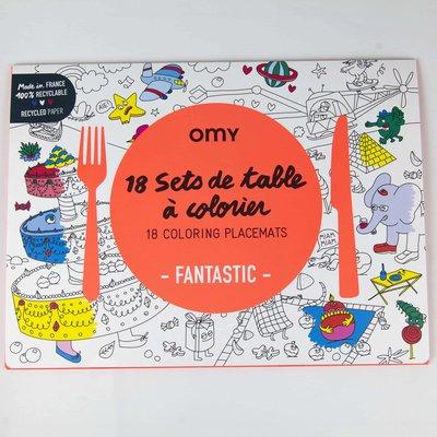 "OMY Sets de table ""Fantastique"""