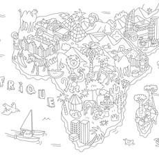 OMY Kleurplatenset 'atlas'