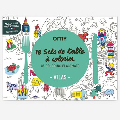 OMY Placemats 'Atlas'