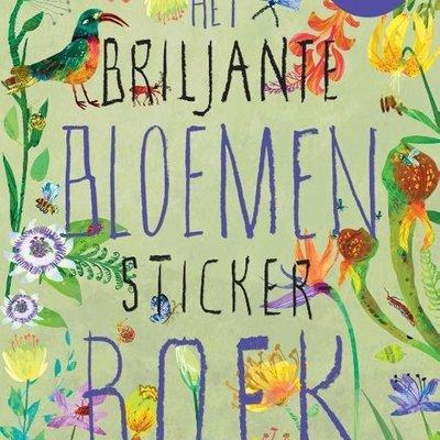Novelle Het briljante bloemen stickerboek