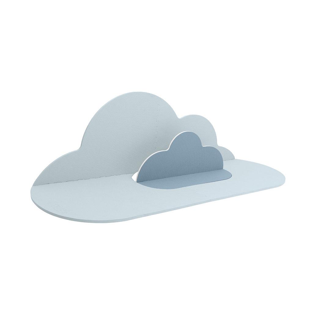 Quut Tapis Nuage - La tête dans les nuages dusty blue small