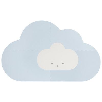 Quut Speelmat head in the cloud dusty blue small