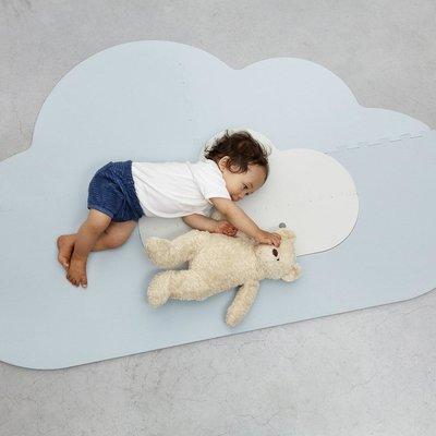Quut Playmat head in the cloud dusty blue small