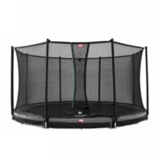 BERG trampolines Trampoline Favorit Inground 380 grijs + veiligheidsnet Comfort