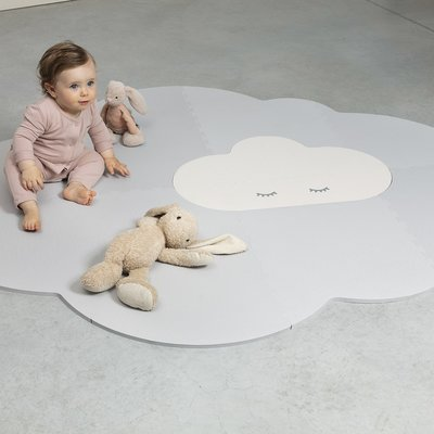 Quut Playmat head in the cloud pearl grey large