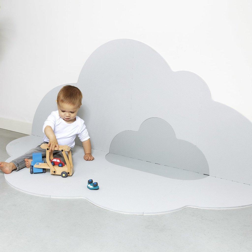 Quut Speelmat head in the cloud Pearl grey large