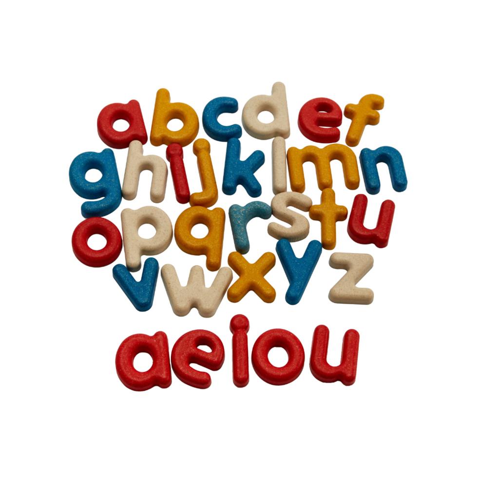 Plan Toys Alfabet kleine letters (31st)